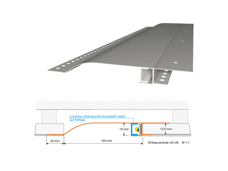 LED mounting profiles R10-F /-R