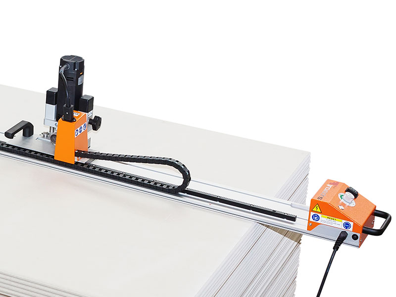 Milling and Sawing Machines for Professional Drywall Construction