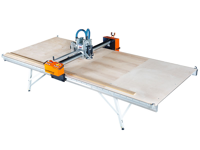 Supercut XPS - Stationary, Expandable Milling and Sawing Table